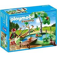 Playmobil 6816 Chovné rybník - Stavebnica