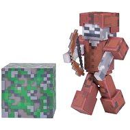 Minecraft Skeleton v koženej zbroji - Figúrka