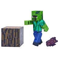 Minecraft Zombie Villager - Figúrka