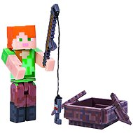 Minecraft  Alex s loďou - Figúrka