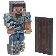 Minecraft Steve v reťazovej zbroji - Figúrka