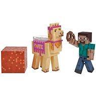 Minecraft Steve s lamou - Figúrka