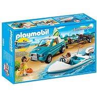Playmobil 6864 Pickup surferov s motorovým člnom - Stavebnica