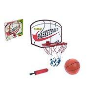 Basketbalový kôš a loptou a pumpičkou - Baseballová súprava