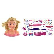 Česacia hlava s doplnkami – blondýnka - Kreatívna hračka