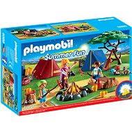 Playmobil 6888 Stanový tábor s LED táborákom - Stavebnica