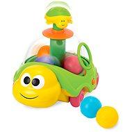 Korytnačka ťahacia s loptičkami - Didaktická hračka