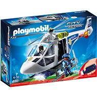 Playmobil 6921 Policajná helikoptéra s LED svetlometom - Stavebnica