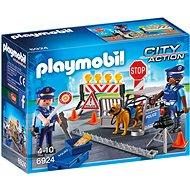 Playmobil 6924 Policajné zátarasa - Stavebnica