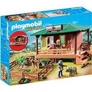 Playmobil 6936 Dom strážcu parku s ošetrovňou zvierat - Stavebnica