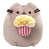 Pusheen s popcornom - Plyšová hračka