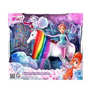 WinX: Bloom Tynix a Elas The Unicorn - Bábika