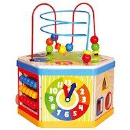 Didaktická hračka Aktívna kocka 7 v 1
