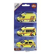 Siku Ambulancia sada 3 áut CZ - Sada autíčok