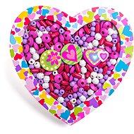 Woody Navliekacie korálky – Srdce