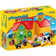 Playmobil 6962 Moja prvá prenosná farma - Stavebnica