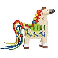 Hape Šnurovací poník - Drevená hračka
