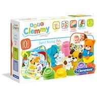 Clementoni Clemmy baby Domáce zvieratá