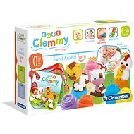 Hračka pre najmenších Clementoni Clemmy baby Hospodárske zvieratá - Hračka pro nejmenší