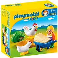 Playmobil 6965 Farmárka s hydinou - Stavebnica