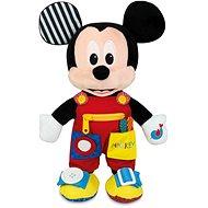 Clementoni Plyšový Mickey s vreckami - Hračka pre najmenších