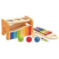 Hape Zatĺkačka so xylofónom - Drevená hračka