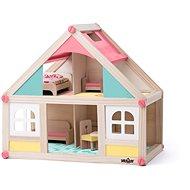 Woody Domček malý s príslušenstvom - Domček pre bábiky