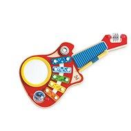 Hape Gitara 6 v 1 - Hudobná hračka