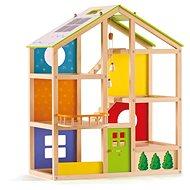 Hape Celoročný dom - Drevená hračka
