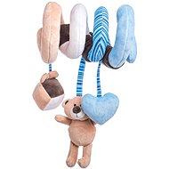 Lumpin Baby špirála – medvedík - Plyšová hračka
