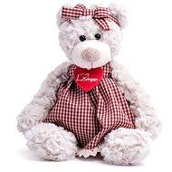 Lumpini Medvedica Sára v šatách - Plyšový medveď