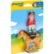 Playmobil 6973 Jazdkyňa s koňom - Stavebnica