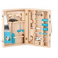 Woody Kovové náradie v drevenom kufríku - Náradie