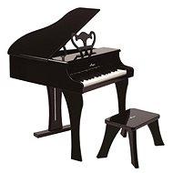 Hape Veľké piano – čierne - Hudobná hračka