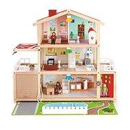 Hape Veľký rodinný dom s garážou - Detský domček