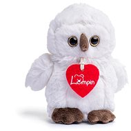 Lumpin Sova Merlin biela, malá - Plyšová hračka