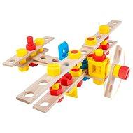 Malý konštruktér Junior – Lietadlo - Drevená stavebnica
