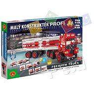 Malý konštruktér Profi – Premium Truck 10 v 1 - Stavebnica