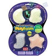 PlayFoam Boule 4pack – svietiaca - Modelovacia hmota