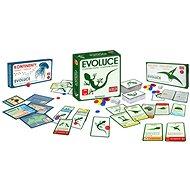 Evolúcia Trilógia – Pôvod druhov + Čas lietať + Kontinenty - Kartová hra
