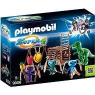 Playmobil 9006 Bojovníci Alien s pascou na T-Rexa - Stavebnica