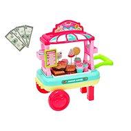 Vozík cukrovinky - Herný set