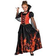 Upírka – červená - Detský kostým