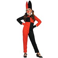 Šašo – červeno-čierny - Detský kostým