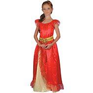 Princezná – červená - Detský kostým