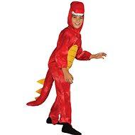 Dinosaurus – červený - Detský kostým