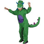 Dinosaurus – zelený - Detský kostým