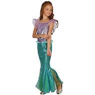 Morská Panna – zelená, malá - Detský kostým