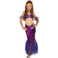 Morská Panna – fialová, malá - Detský kostým