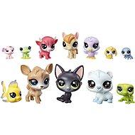 Littlest Pet Shop Veľké balenie zvieratiek 12 ks Donuts - Herná súprava